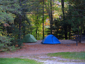 Photo: Fall camping at Little River State Park