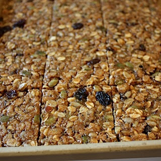 Chewy Oat Squares.