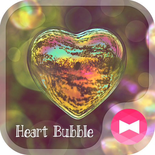 Heart Bubble  Beautiful Theme Icon