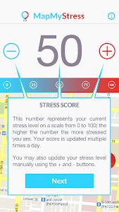 Map My Stress screenshot 1