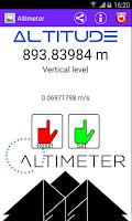 Screenshot of Altimeter