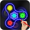 Draw and Spin FIDGET Spinner APK