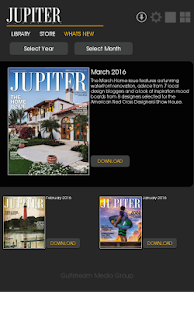 Jupiter Magazine- screenshot thumbnail