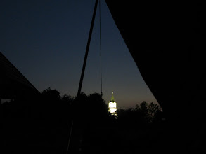 Photo: Kryłów. Taki widok z namiotu mógłbym oglądać przez całe lato.