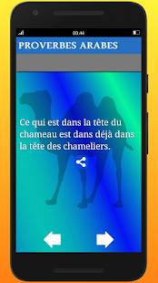 Download Proverbes Arabes En Français For PC Windows and Mac apk screenshot 3