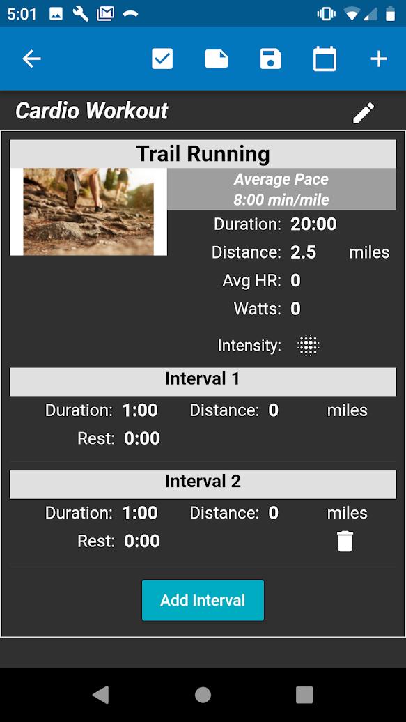 Power Log: Workout Tracker