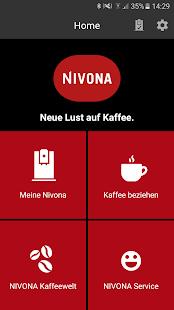 Nivona App - náhled