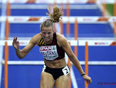 Hanne Maudens en Cynthia Bolingo breken records op BK indoor