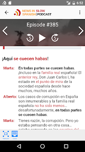 News in Slow Spanish- screenshot thumbnail