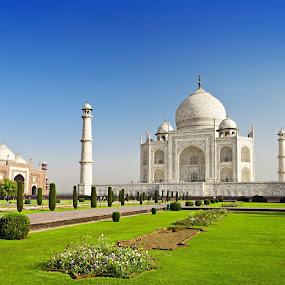 Taj Mahal by Arkendu Pal - Buildings & Architecture Public & Historical