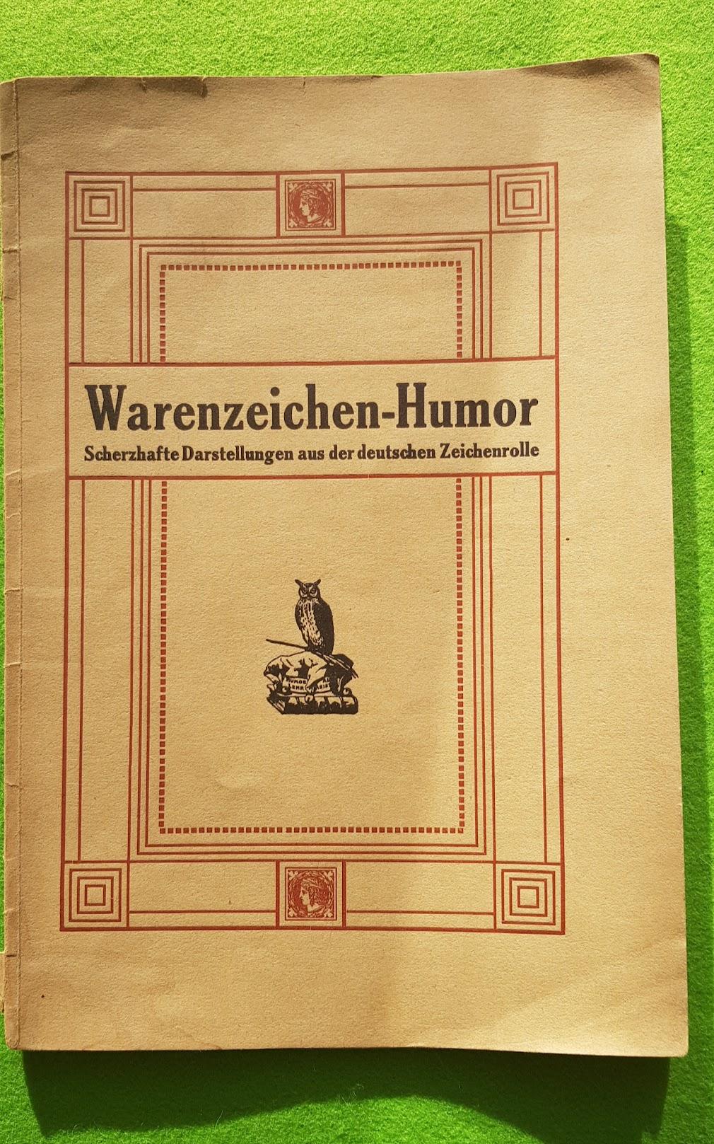 Warnezeichen-Humor - Scherzhafte Darstellungen aus der deutschen Zeichenrolle