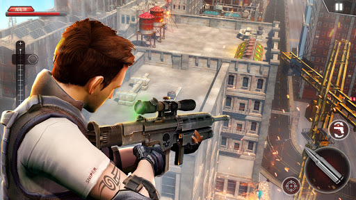 City Police Sniper 2018 - Best FPS Shooter  captures d'écran 1