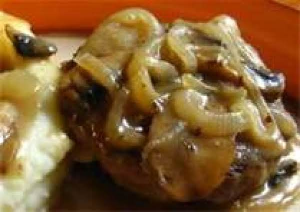 Country Salisbury Steak With Onion Gravy By Freda Recipe
