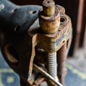 Sewing machine by Luis Albanes - Artistic Objects Business Objects ( sewing, old, machine )