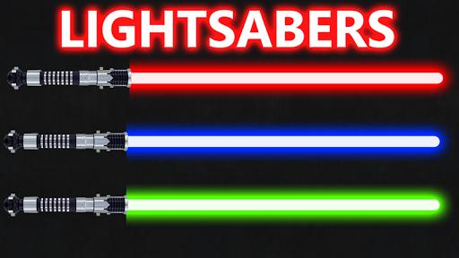 Бластеры и световые мечи
