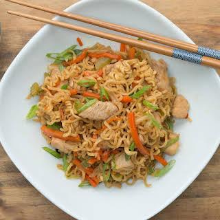 One-Pot Chicken Chow Mein.