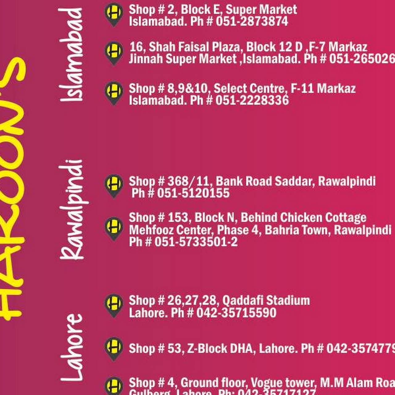 Haroon's - Gift Shop in Rawalpindi
