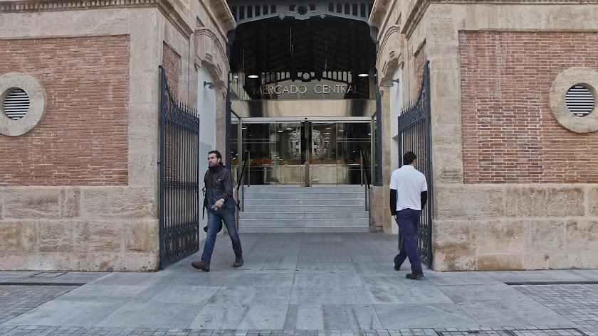 Exterior del Mercado Central de la capital