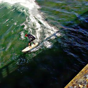 surfer by Jon Radtke - Sports & Fitness Surfing ( surfer,  )