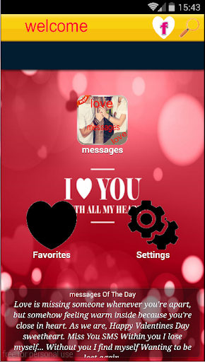 Download love sms messages 2016 Google Play softwares