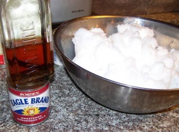 Snow Cream Recipe