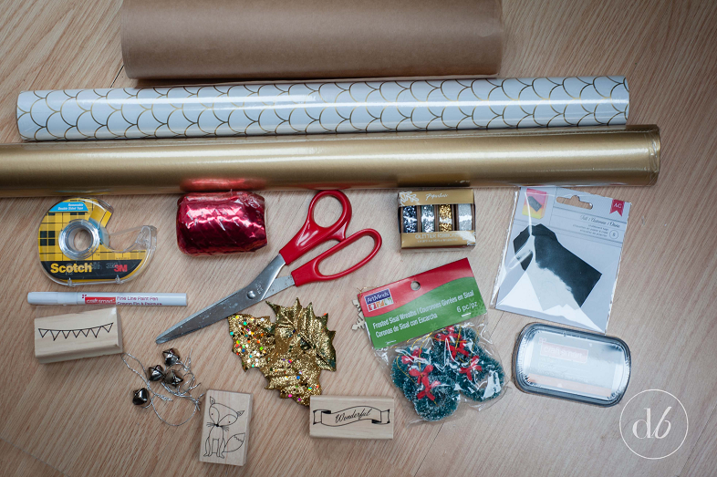 Things you need for gift wrapping