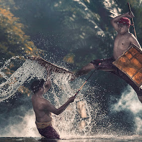 Traditional Fighting Sport by German Kartasasmita - Sports & Fitness Other Sports