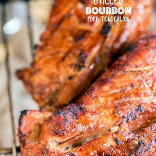 Grilled Bourbon Pork Tenderloin.