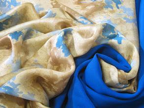 Photo: Ткань:Шармюз натуральный шелк ш.140см.цена 4000 руб.