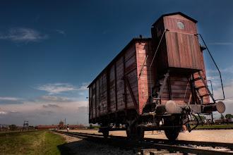 Photo: Birkenau Rail Car