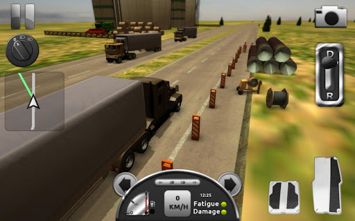 Truck Simulator 3D screenshot 5