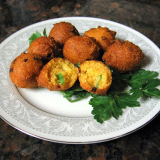 Deep Fried Southern Hush Puppies.