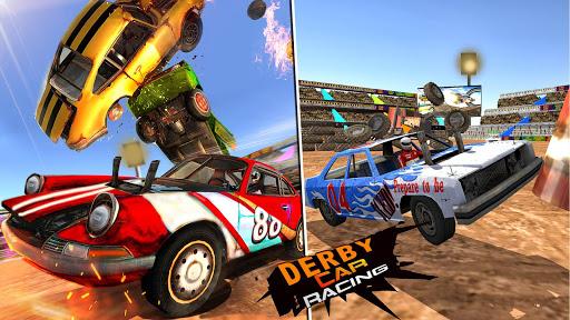 Derby Car Crash Stunts Demolition Derby Games apkpoly screenshots 4