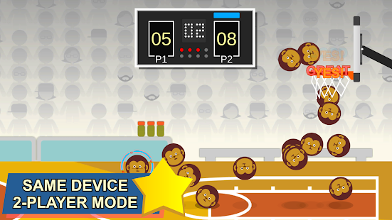 Swipe Shootout: Street Basketball Screenshot