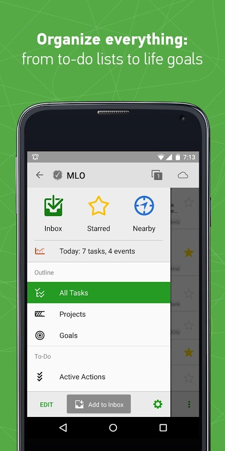 MyLifeOrganized: To-Do List- screenshot