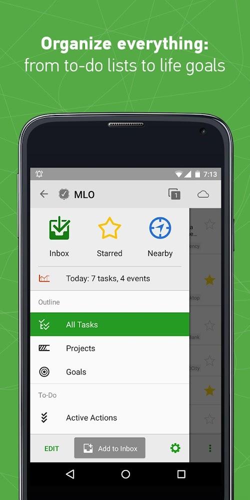 Screenshot 1 MyLifeOrganized: To-Do List 2.12.13 APK PAID