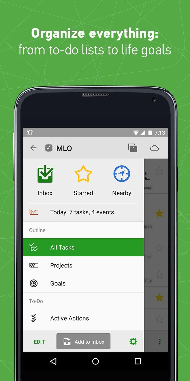 MyLifeOrganized: To-Do List Screenshot