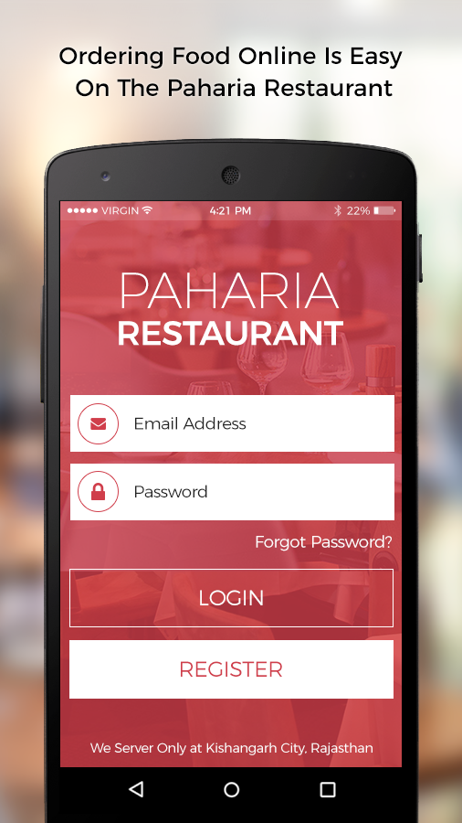 Paharia Restaurant & Sweets- screenshot