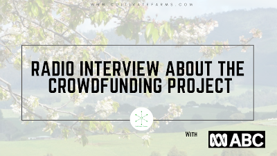 Radio Interview About the Crowdfunding Project