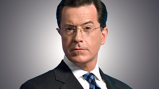Stephen Colbert silent after homophobic gibe about Trump and Putin