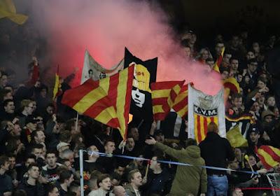 """? """"30.000 propere handen"""": Supporters KV Mechelen komen met geweldig statement in moeilijke tijden"""