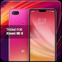 Theme for Xiaomi Mi 8 icon