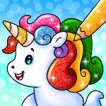 Unicorn Coloring Book: Free Glitter Coloring Games icon