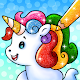 Unicorn Coloring Book: Free Glitter Coloring Games for PC-Windows 7,8,10 and Mac