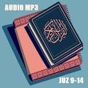Murottal Al-Quran dan Terjemahan Offline Juz 9-14 icon