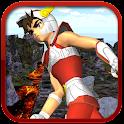 3D Knight Saint Athena Run icon