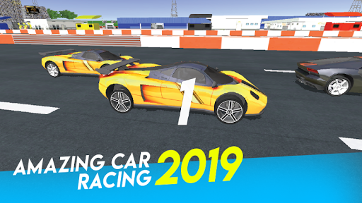 Amazing Car Racing 2019 3.7 screenshots 1