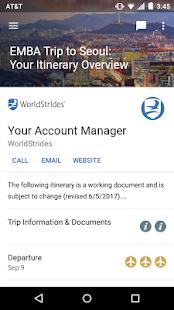 WorldStrides - náhled