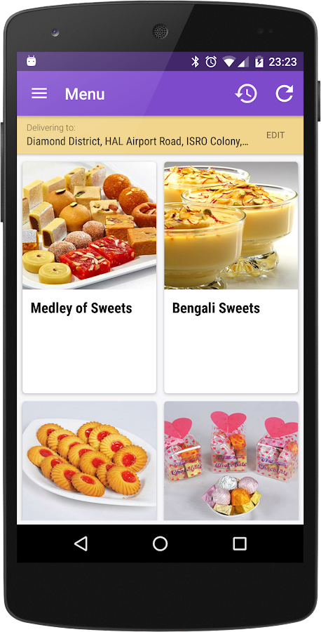 Kanti Sweets- screenshot