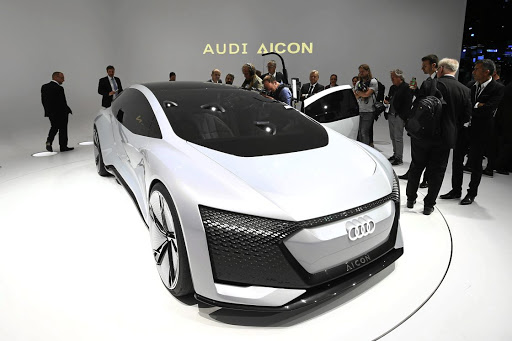 Audi showed its plans for Level 5 autonomous driving with the Aicon concept